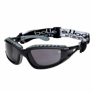 Bolle Safety TRACPSF Tracker Safety Goggles Vented Smoke Brand New & Sealed