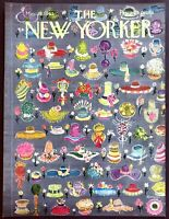 1965 Women's Spring Hats art by Kovarsky May 15 New Yorker Magazine COVER ONLY