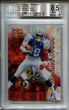 1996 Select Certified Mirror Red Premium Stock MICHAEL IRVIN Rare SP /20 BGS 8.5