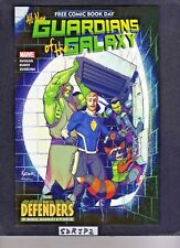FCBD ALL NEW GUARDIANS OF THE GALAXY #1 NM UNREAD UNSTAMPED 2017 + DEFENDERS