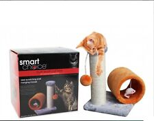 Cat Scratch Post With Play Tunnel (GREAT PET GIFT)