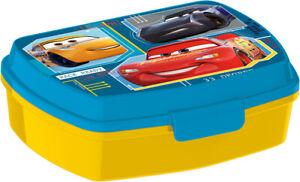 Cars Blu LUNCH BOX scatola colazione porta PRANZO MERENDA sandwich scuola