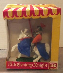Britains Swoppet Knight on White Horse with Lance - mint in box