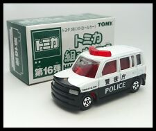 TOMICA ASSEMBLY FACTORY 16TOYOTA bB POLICE CAR1/60 TOMY DIECAST CAR 5 R