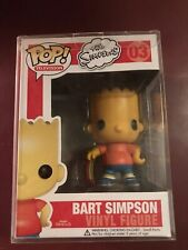 Funko Pop! Bart Simpson #03 The Simpsons Vaulted Retired W/Box 2011 READ