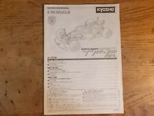 Kyosho TF-2 Manual - Pure Ten Spider TF-2 TF2 series