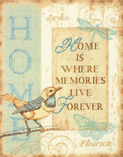 Cross Stitch Kit ~ Dimensions Home Memories Saying #70-35272 OOP SALE!