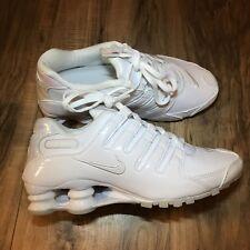 Nike Shox NZ Womens Running Cross Training Shoes White Pearl 636088-115 Size 5