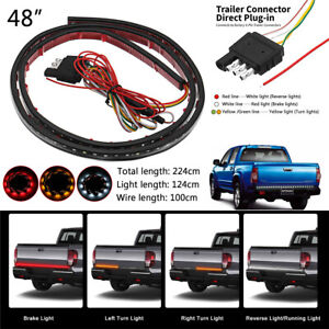 48 inch  LED  Rear Tailgate Brake Light Bar waterproof led strip tape Truck SUV