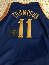 Klay Thompson Signed / Autographed Custom Warriors Jersey with COA *No Reserve*
