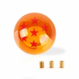 Gear Shift Shifter Knob Dragon Ball Stars Crystal Orange 10*1.5/10*1.25/8*1.25