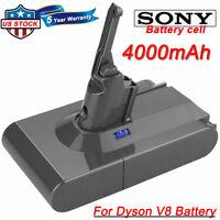 For Dyson V8 Animal 21.6V 4.0Ah Li-ion Battery SV10 Cordless Vacuum Cleaner NEW