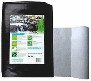 Swell UK Pond Liner - 25 Year Guarantee & Heavy Duty Underlay Garden Fish Ponds