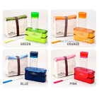 Lock & Lock Bento Lunch Box Set with Bottle Chopstics Insulated Bag