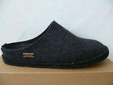 Haflinger Men's Slippers House Shoes Mules Black New