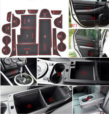 16pcs For Mazda CX-7 Car Rubber Non-slip Mat Interior Cup Pad Door Groove Mat