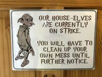 Harry Potter Poster & Hogwarts - Dobby The House Elf - Laminated Print Gift