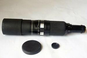 USA Century Tele Athenar 300mm F4.5 C mount Blackmagic,Micro4/3 Lens Barely Used