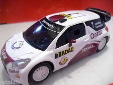 Sccalextric CITROEN DS3 WRC QATAR  nº 7    1/32    NUEVO   NEW