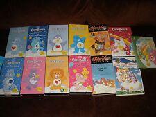 HUGE lot of 13 Care Bears VHS & DVDs