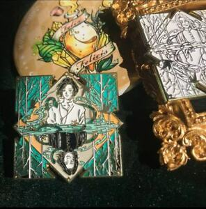 HP Harry Professor Severus Snape Metal Badge Brooch Pin Collect Limited N