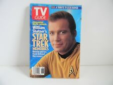 TV GUIDE  -  STAR TREK MEMORIES  -  ISSUE 2110  VOL 41 NO 36  -  1993