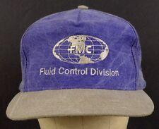 Fmc Fluid Control Division Gas Oil Petroleum Purple Baseball Hat Cap Adjustable