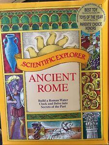 Scientific Explorer Ancient Roman Water Clock Clepsydra Klepsydra Experiment Kit