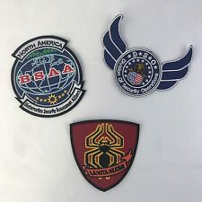 3 Resident Evil Patches (BSAA, DSO & La Vita Nuova)