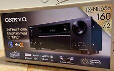 Onkyo TX-NR656 7.2 Channel Network AV Receiver, Black, Dolby Atmos, DTS X