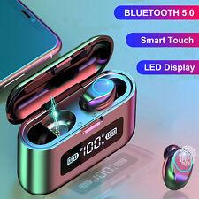 Tws Bluetooth 5.0 Earbud Wireless Headset Noise Canceling Waterproof Headphone