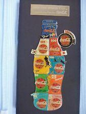 1 Coca Cola Fifa World Cup Bottle Pin Flasche Countdown Pins ohne Rahmen