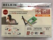 Belkin High Speed Mode Wireless G Desktop Network Card F5D7001