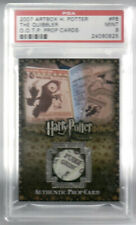 Artbox Harry Potter Prop Card The Quibbler P8 151/235 OOTP PSA Minted 9 Variant
