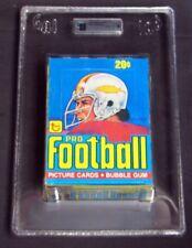 1978 TOPPS FOOTBALL UNOPENED WAX BOX 36 PACKS / GRADED GAI 9 MINT NICE! [709]