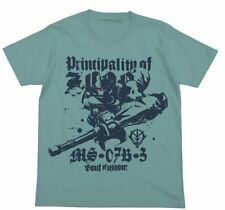 Mobile Suit Gundam: The 08th MS Team Gouf Custom Cospa Character Blue T-shirt XL