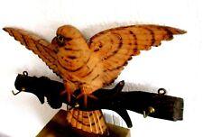 Antikes Handgeschnitztes Regal 36cm Brett - Holz-Jagd-1880 Raubvogel Erzgebirge