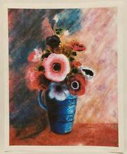 "Original Limited Edition Giclee Floral Print By K.D.Davis ""Anemones"""