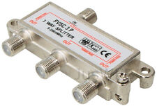 3-fach SAT Verteiler Splitter 5-2500MHz digital Kabel TV DVB-T HDTV UKW