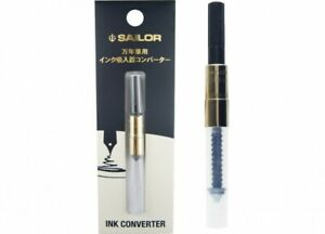 Sailor Ink Inhaler Converter Gold for Fountain Pen 14-0806-220