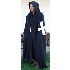 Medieval White Templar Crusader Tunic, Surcoat & Cloak Reenactment SCA Larp