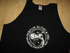 Pamplin Fire Tank Top - 2007 Virginia Motorcycle Poker Run Biker Muscle Shirt 3X