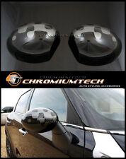 MINI Cooper/S/ONE R55 R56 R57 R60 Vivid ARGENTO SPECCHIO tappo di copertura per piega manuale