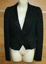 WAREHOUSE black jacket size 12
