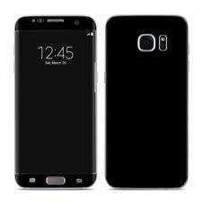 Galaxy S7 Edge Skin - Solid Black - Sticker Decal