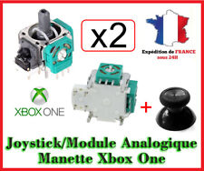 2 x Module  + Joystick Analogique 3D Stick Capteur Remplacement Manette XBOX ONE