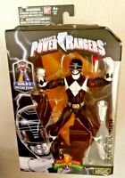 Power Rangers Black Ranger Legacy Collection Build A Megazoid. Bandai. Mint