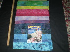 Great Lot - Fabric Bolt End Pieces - Quilt Magazine Patterns of Blocks & Tops 83