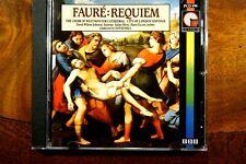 Faure - Requiem, Op. 48/ Tantum Ergo, David Hill  -  CD, VG