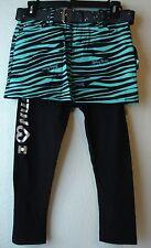 Abbey Dawn Girls Zebra Skirt & Leggings